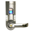 iTouchless Bio-Matic™ Fingerprint Door Lock Silver - Right Handle ITOBM003REA