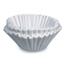 Bunn Flat Bottom Funnel Shaped Filters, for Bunn U3 brewer BNN18X6