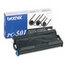 Brother Brother PC501 Thermal Transfer Print Cartridge, Black BRTPC501