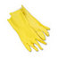 Boardwalk Flock-Lined Latex Cleaning Gloves - Large BWK242L