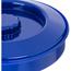 "Carlisle Tortilla Server w/Lid 7-1/4"" / 1-15/16"" - Cobalt Blue CFS047060CS"