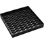 "Carlisle NeWave Square Drip Tray 6"" - Black CFS1102603CS"