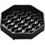 "Carlisle NeWave Octagon Drip Tray 4"" - Black CFS1103003CS"
