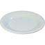"Carlisle Sierrus Melamine Wide Rim Bread And Butter Plate 5.5"" - White CFS3302002CS"