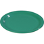"Carlisle Sierrus Melamine Wide Rim Bread And Butter Plate 5.5"" - Meadow Green CFS3302009CS"