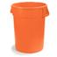 Carlisle 20 Gal Bronco™ Container - Orange CFS34102024CS
