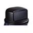 Carlisle 32 Gal Bronco Dome Lid - Black CFS34103403EA