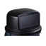Carlisle 44-55 Gal Bronco Dome Lid - Black CFS34105703EA