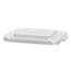 Carlisle 28 Gal Bronco Square Lid - White CFS34152902CS