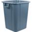 Carlisle Bronco™ Square Waist Container 40 gal - Grey CFS34154023CS