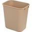 Carlisle Office Wastebasket 13 Qt - Beige CFS34291306CS
