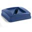Carlisle 23 Gal Centurian™ Paper Recycle Lid - Blue CFS343526REC14CS