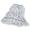 Carlisle Premium Medium Natural Yarn Mop Heads with Green Band CFS369419B00CS