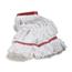 Carlisle Premium Large Natural Yarn Mop Heads with Red Band CFS369424B00CS