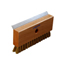 Carlisle Sparta® Oven Brush & Scraper with Brass Wire Bristles (Head only) CFS4029100CS