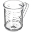 Carlisle Measuring Cup CFS431507CS