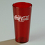 Carlisle Coca-Cola® Stackable Tumbler, Ruby 20 oz. CFS52203550CS