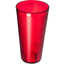 Carlisle Coca-Cola® Stackable SAN Plastic Tumbler 32 oz (72ea) - Coke - Ruby CFS5232-63550ICS
