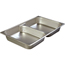 Carlisle DuraPan™ Full-Size Divided Pan CFS607002D