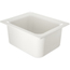 "Carlisle Coldmaster® 6"" Deep Half-Size Food Pan 192 oz. - White CFSCM110102CS"