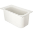 "Carlisle Coldmaster® 6"" Deep Third-Size Food Pan - White CFSCM110202CS"