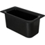 "Carlisle Coldmaster® 6"" Deep Third-Size Food Pan - Black CFSCM110203CS"
