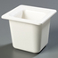 "Carlisle Coldmaster® 6"" Deep Sixth-Size Food Pan - White CFSCM110402CS"