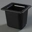 "Carlisle Coldmaster® 6"" Deep Sixth-Size Food Pan - Black CFSCM110403CS"