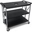 Carlisle Fold 'N Go® Cart - Black CFSSBC203103CS