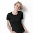 WonderWink Slinky Knit Short Sleeve Tee CID2209A-BLK-XL