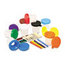 Creativity Street Creativity Street® No-Spill Paint Cups and Brushes Pack CKC5104