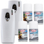 Claire Fresh Linen & Tropic Breeze Metered Air Freshener & Dispenser Kit CLACPMAVBETTYMILLS