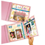 C-Line Products MINI Fold-Out Panoramic Top Loading Scrapbook Page Protectors, 8 x 8 CLI05217BNDL6PK