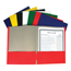 C-Line Products Recycled 2-Pocket Paper Portfolios, Assorted CLI05300BNDL100EA