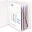 C-Line Products Polypropylene Sheet Protectors w/Index Tabs, Clear Tabs, 11 x 8 1/2 CLI05557BNDL6ST