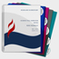 C-Line Products 5-Tab Poly Binder Index Dividers w/Slant Pockets, Assorted CLI05750BNDL12ST