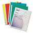 C-Line Products Vinyl Report Covers w/Binding Bars, Assorted, White Binding Bars, 11 x 8 1/2 CLI32550