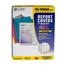C-Line Products Vinyl Report Covers w/Binding Bars, Smoke, Black Binding Bars, 11 x 8 1/2 CLI32551