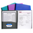 C-Line Products 8-Pocket Spiral-Bound Poly Portfolio CLI33080BNDL6EA