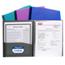 C-Line Products 8-Pocket Spiral-Bound Poly Portfolio CLI33080BNDL6EA