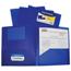 C-Line Products 2-Pocket Heavyweight Poly Portfolio Folder, Blue CLI33955BNDL18EA