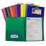 C-Line Products 2-Pocket Heavyweight Poly Portfolio Folder w/Prongs CLI33960BNDL12EA