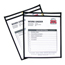 C-Line Products Shop Ticket Holders, Stitched, Both Sides Clear, 8 1/2 x 11 CLI46911