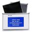 C-Line Products Zip 'N Go Reusable Envelope, Black, Legal Size, 15 X 12 CLI48101BNDL2PK