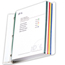 C-Line Products Colored Edge Sheet Protectors, Assorted Colors, 11 x 8 1/2 CLI62000