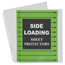 C-Line Products Side Loading Polypropylene Sheet Protectors, Clear, 11 x 8 1/2 CLI62313BNDL2BX