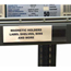 C-Line Products HOL-DEX Magnetic Shelf/Bin Label Holders, 1