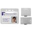 C-Line Products Heavy Duty Badge Holders, Vinyl, Horizontal, 2 3/8 x 3 3/8 CLI88607