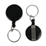 C-Line Products Retracting ID Card Reels, Belt Clip w/Split Ring, Black CLI89241BNDL12EA