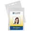 C-Line Products Proximity Badge Holders, Vertical CLI89923BNDL2PK